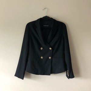Who What Wear black blazer jacket